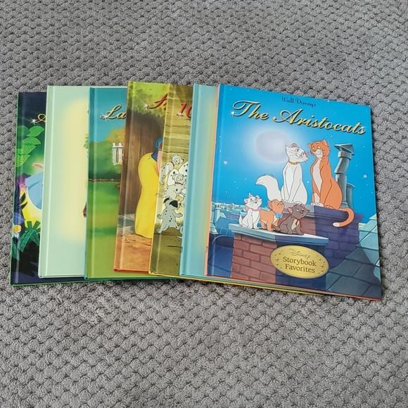 7 Famous Disney story books